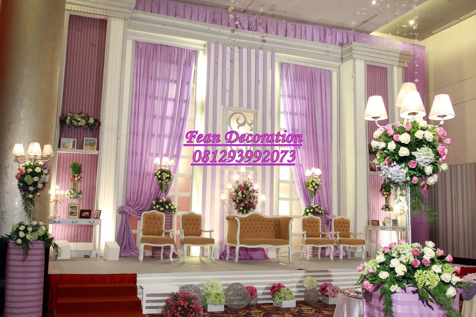 Dekorasi Warna Dekorasi Wedding