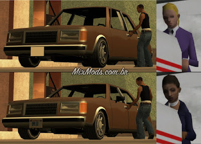 gta sa mod beta leftovers fix cutscenes car ped