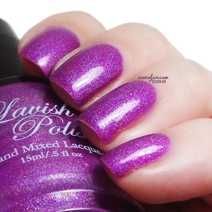 xoxoJen's swatch of Lavish Polish Chasing Rainbows