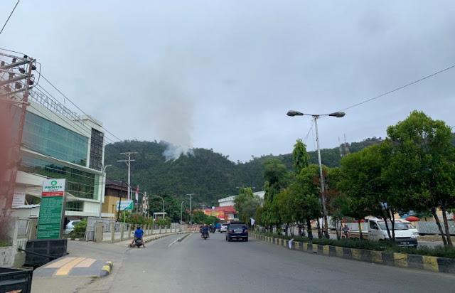Pemkot Jayapura Akan Tertibkan Pelaku Pembakaran Hutan di Perbukitan Apo