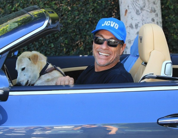 Jean-Claude Van Damme: Day Out in the Bentley