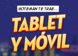 botemania regala 10 Smartphones y 10 Tablets 23-31 mayo