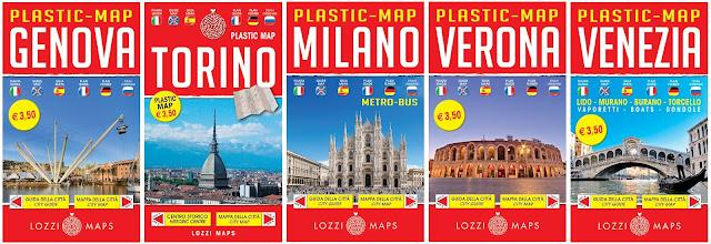 Collana Plastic Map
