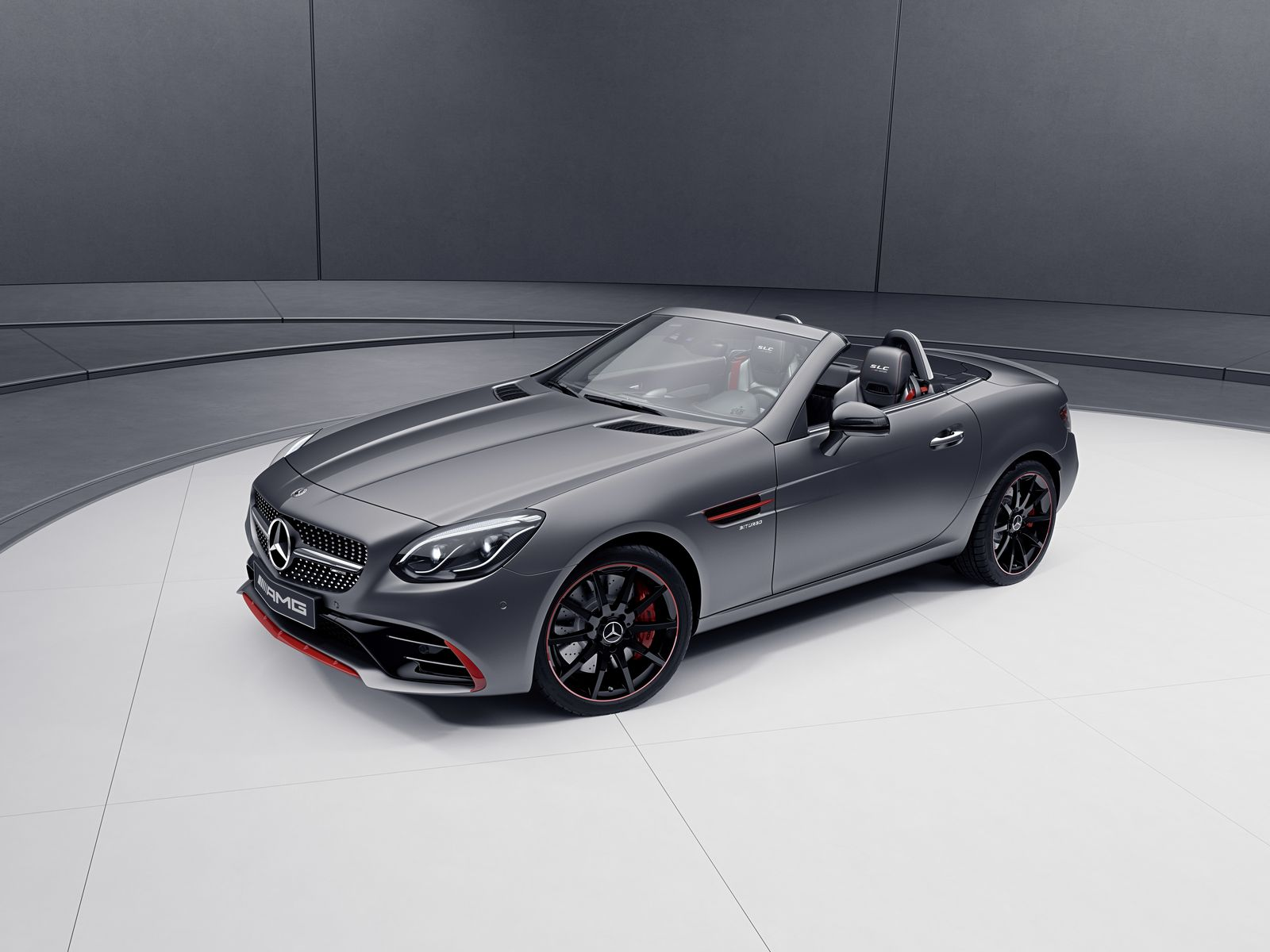 Mercedes benz sl and slc get special designo and redart for The latest mercedes benz