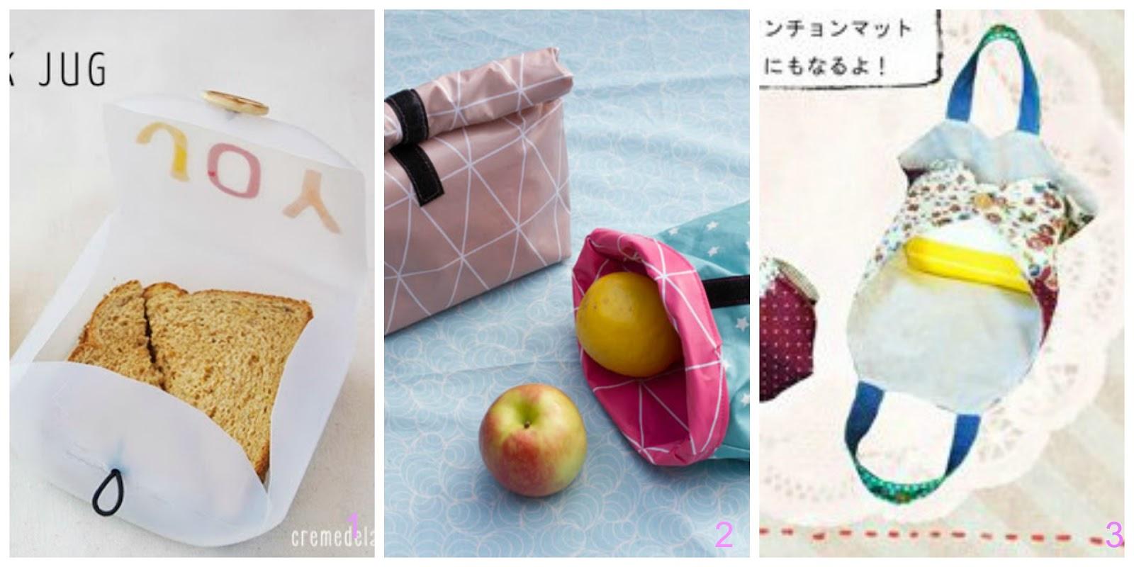 Porta merenda lunch box fai da te donneinpink magazine - Porta merenda bimbi ...