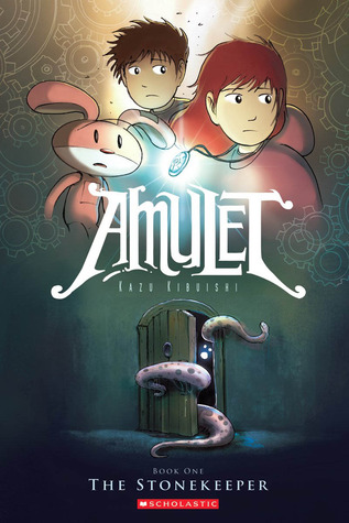 Amulet, Vol. 1: The Stonekeeper cover