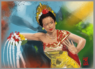 All About Bali The Beauty Of Balinese Paintings
