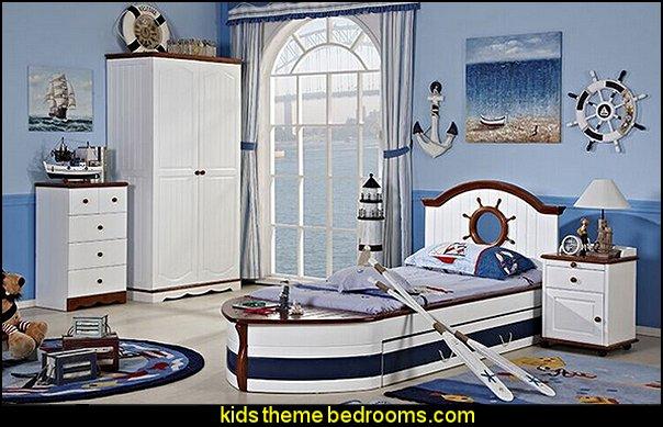 Decorating theme bedrooms Maries Manor nautical bedroom ideas