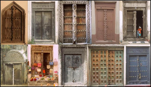 STONE TOWN, DOORS WITH A STORY