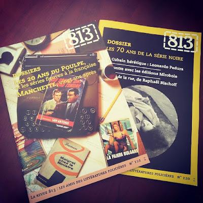 revue 813 consacrée aux littératures policières