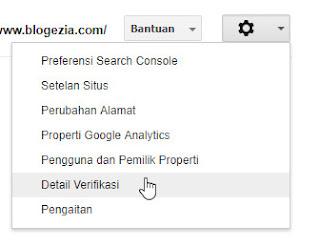 Cara Daftar Verifikasi Blog Di Google Webmaster Tools