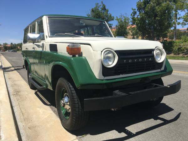 Very Original FJ55 Land Cruiser