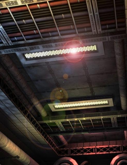 Sci-Fi Corridor Glow