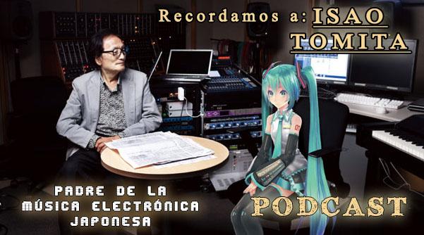 Isao Tomiat con Hatsune Miku Podcast