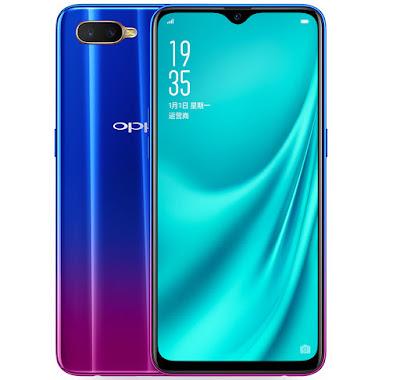 OPPO R15x  with Snapdragon 660, in-display Fingerprint sensor Launched
