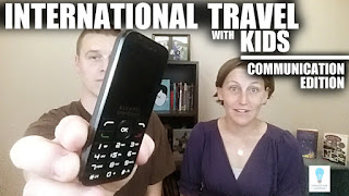 International Travel w Kids - Communication version (Episode 69) Today, we're gonna talk about international travel with kids and how to stay connected with people back home.