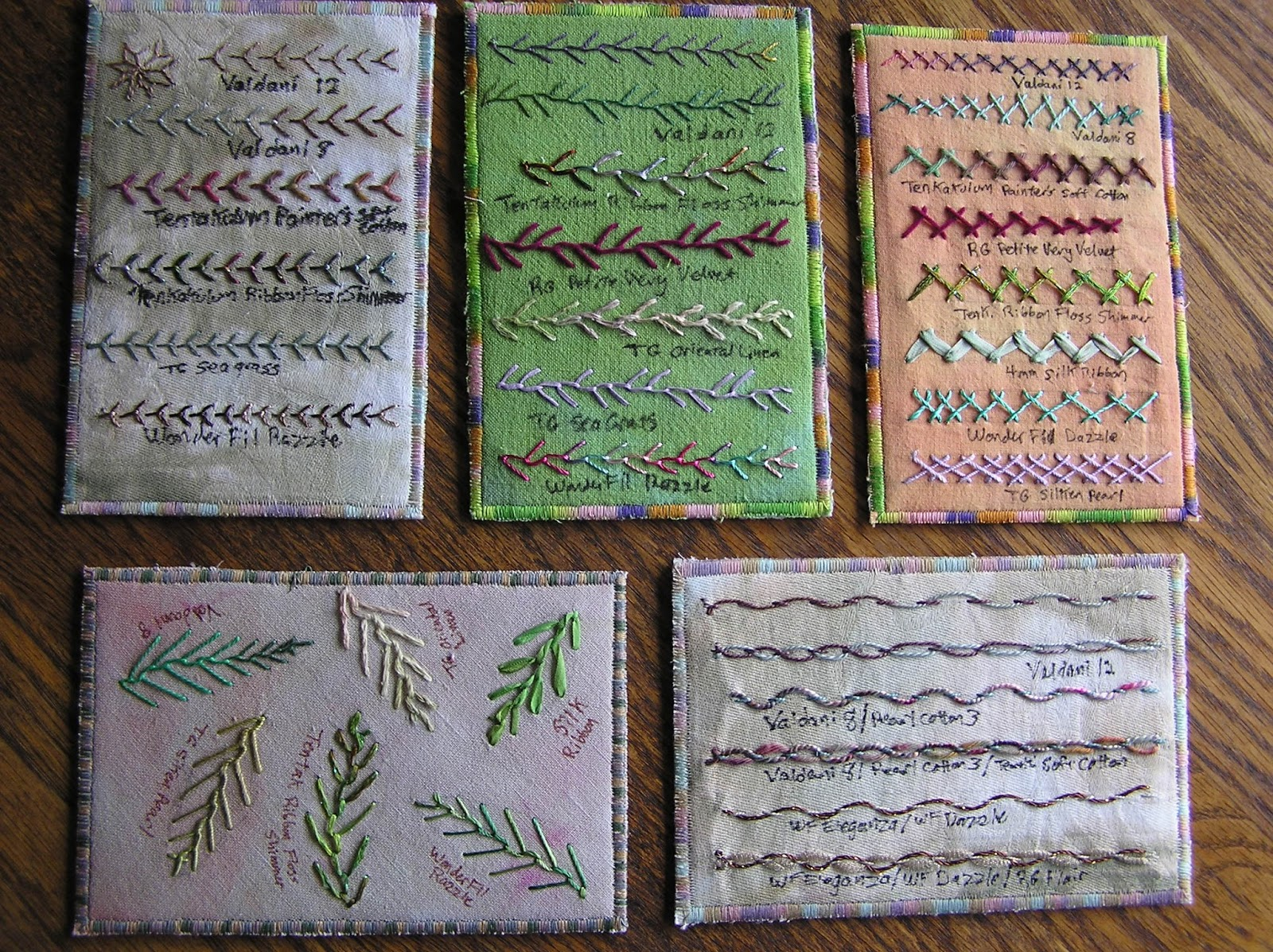 Rags Paper Stitches Embroidery Stitches