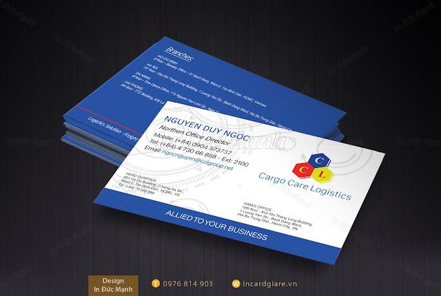 Mẫu card dành cho ngành kỹ thuật công nghiệp