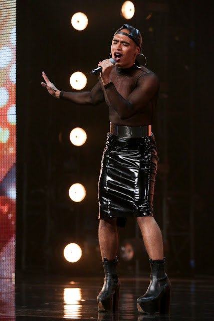 Seann Miley Moore XFactor UK