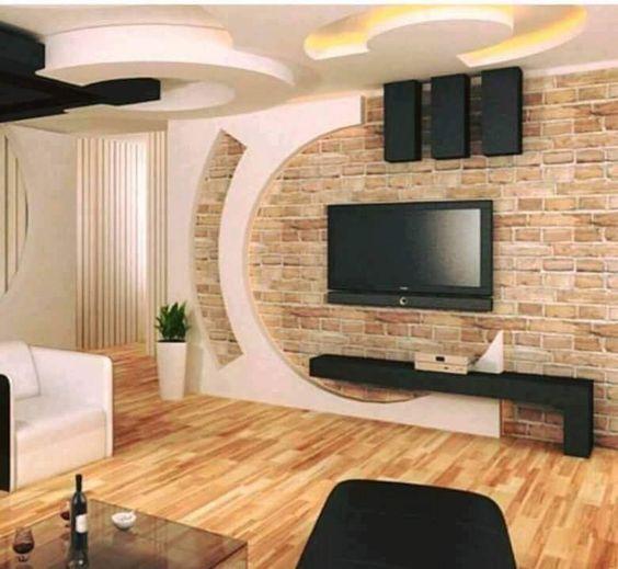 Elegant, Contemporary, and Creative TV Wall Design Ideas - Decor Units