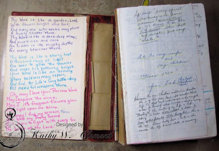 Restoring Mom's Bible 02