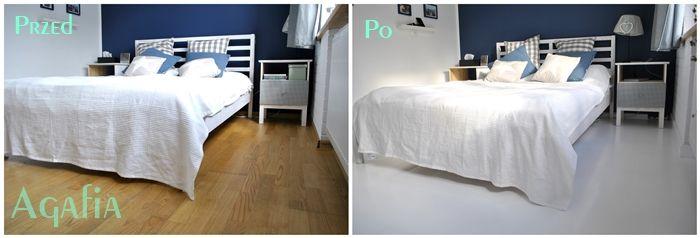Sypialnia przed i po - metamorfoza