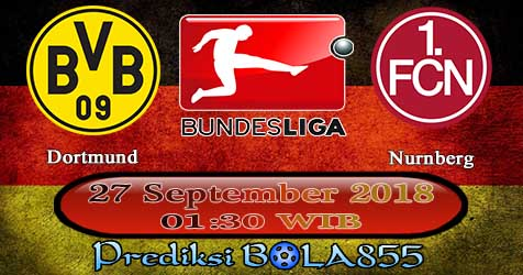 Prediksi Bola855 Dortmund vs Nurnberg 27 September 2018