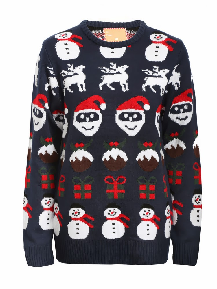 Rock Kersttrui.The Invisible Creations Primark Rock The Jumper