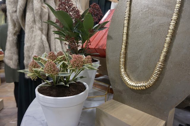 Gold Necklace, Anthropologie Leeds