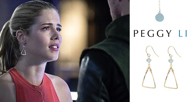Felicity Smoak Earrings Jewelry Arrow Season 3 | Peggy Li ...
