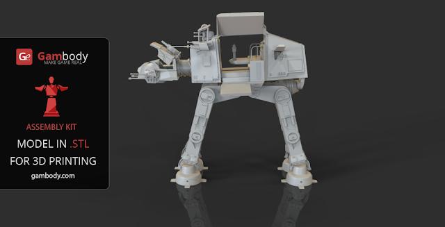 AT-AT model from Star Wars