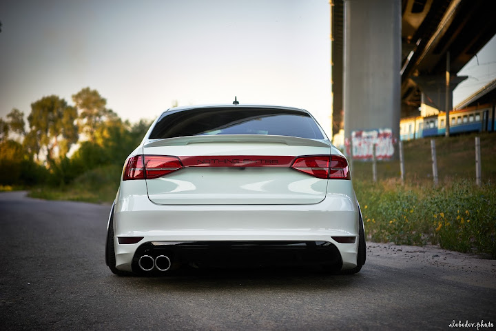 VW Jetta mk6 #nothing_extra airlift