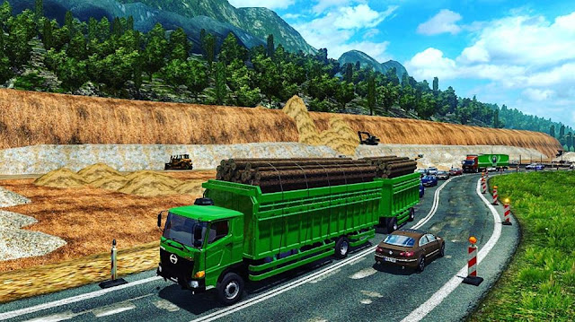 Mod Hino 500 By CMT ETS2 Free