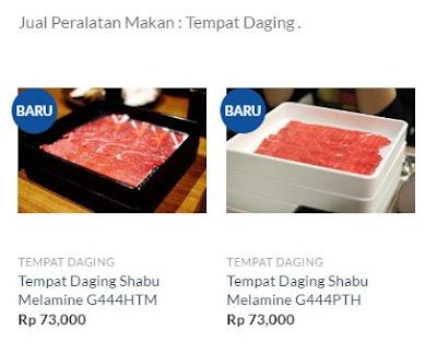 melaminemall.com jual alat makan tempat daging