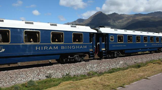Tren Hiram Bingham - MachuPicchu Cusco Peru
