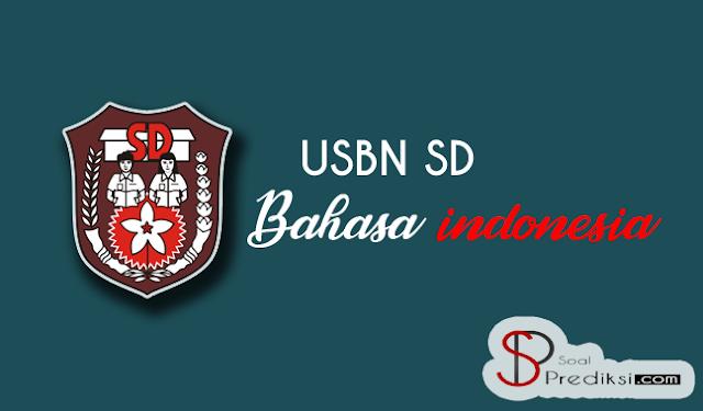 Latihan Soal USBN Bahasa Indonesia SD 2019 dan Jawaban