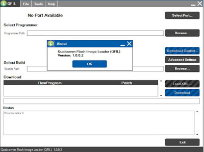 QPST (Qualcomm) Flash Tool v2.7 Download For Windows