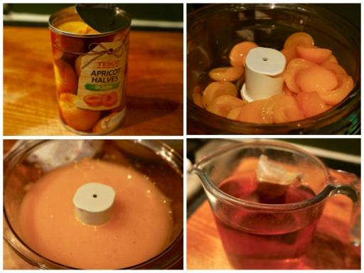 Fanny Cradock Apricot Mould