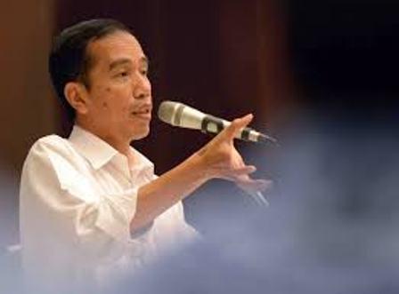 Gambar Profil Jokowi presiden yang terkenal dengan gaya blusukan
