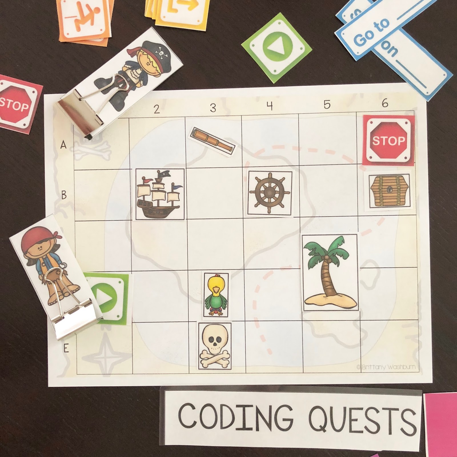 Technology Teaching Resources with Brittany Washburn: Coding