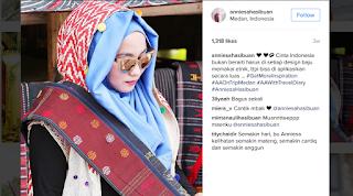 Anniesa Hasibuan, Desainer Hijab Indonesia Pertama di New York Fashion Week