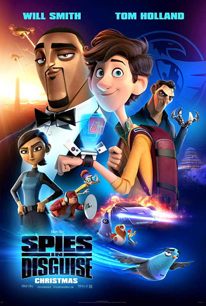 Spies in Disguise (2019) English 300MB HDCAM Download