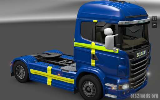 Sweden Scania Skin