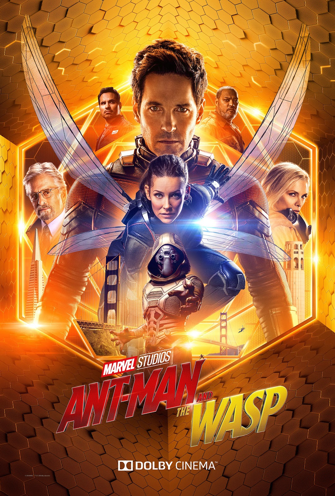 Marvel's Ant-Man and the Wasp Dolby Cinema poster