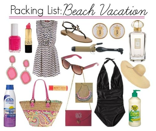 What To Pack Beach Vacation Julie Leah A Southern Life Style Blog