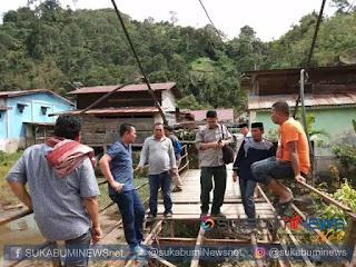 Badan Penanggulangan Bencana Alam Daerah (BPBD) setempat langsung turun melakukan survey ke lokasi untuk memastikannya.