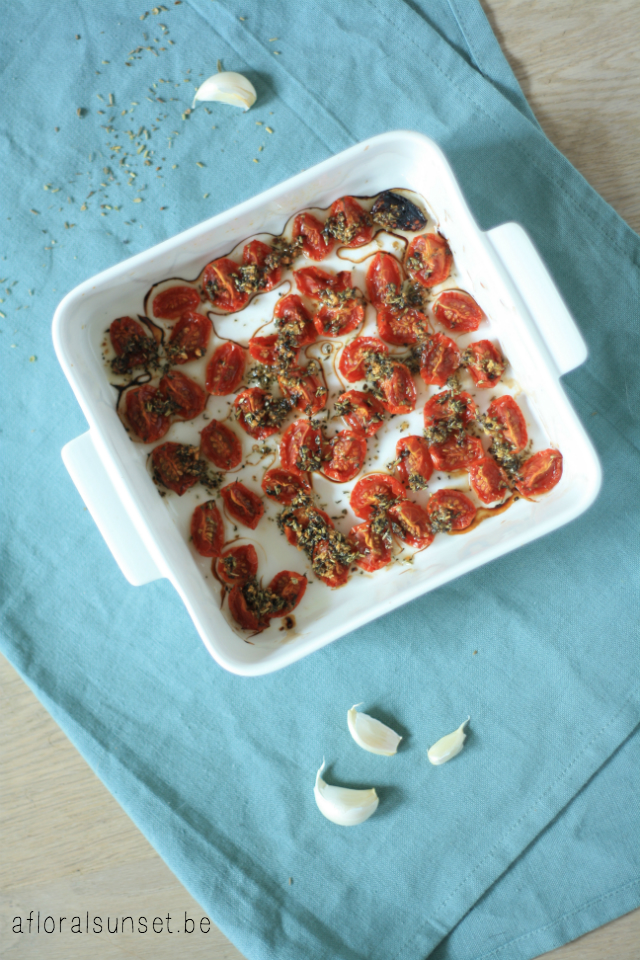 DIY: ovengedroogde tomaten - a floral sunset