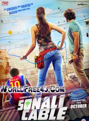 Poster Of Hindi Movie Sonali Cable (2014) Free Download Full New Hindi Movie Watch Online At worldfree4u.com