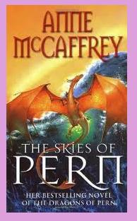 portadas del libro de fantasía y ciencia ficción The skies of Pern