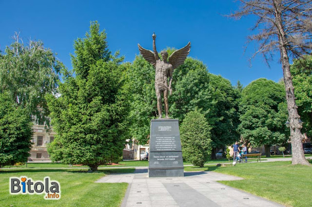 Monument Angel - Bitola, Macedonia